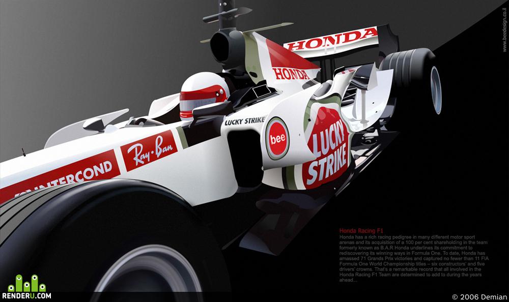 preview F1 Honda