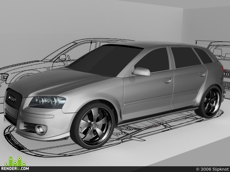 preview Audi A3 Sportback