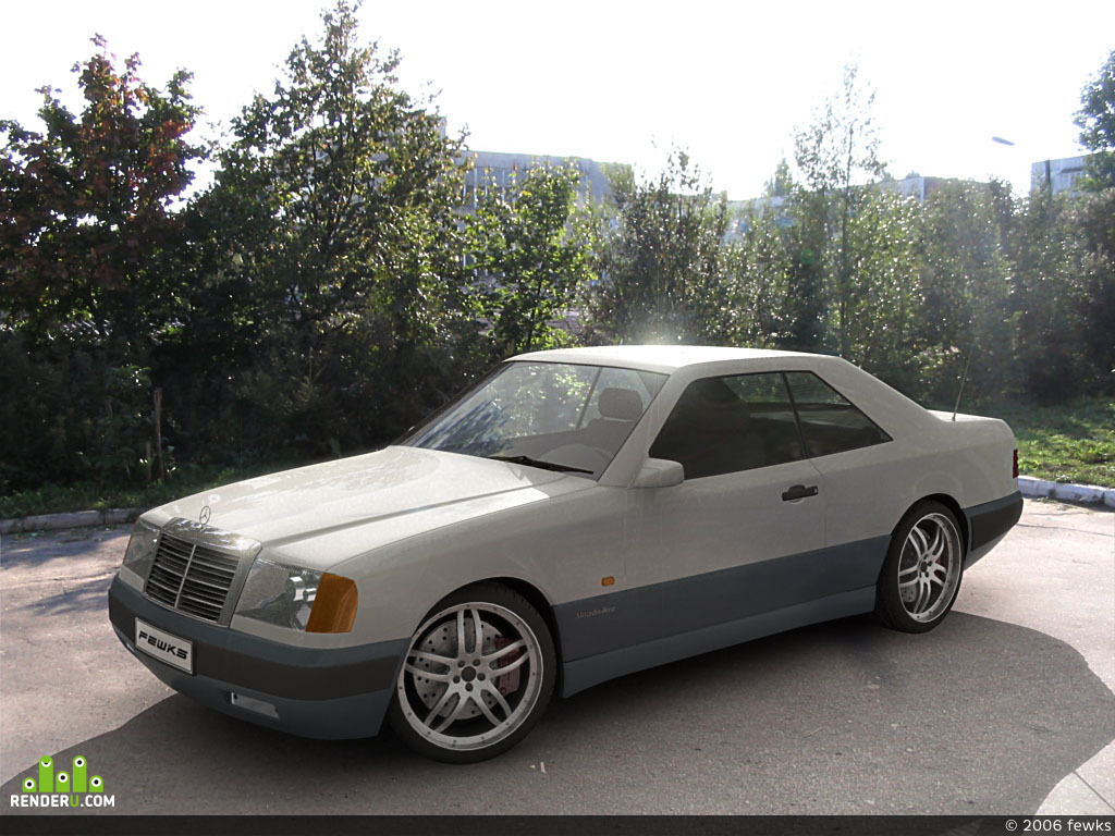 preview Mercedes CE230 Coupe