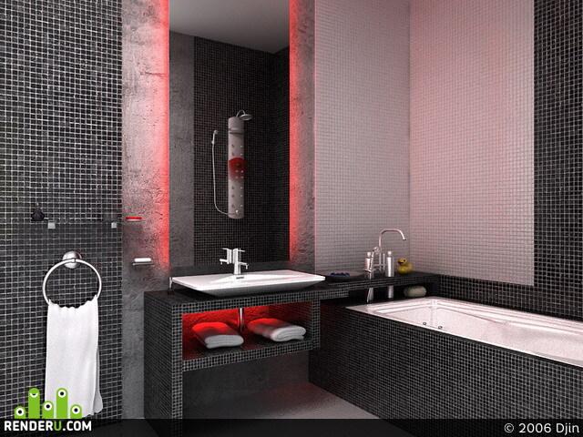 preview Современная ванная комната