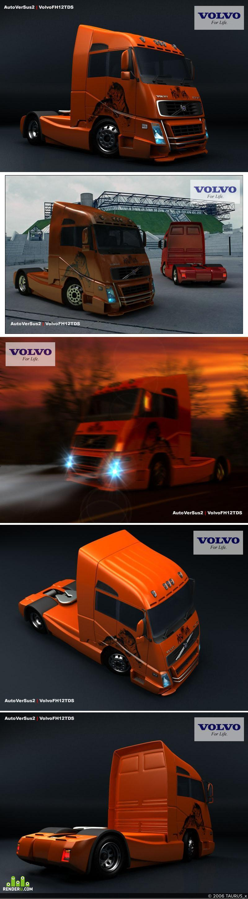 preview Volvo FH12TDS