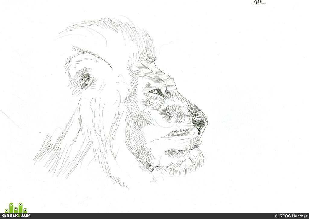 preview лев