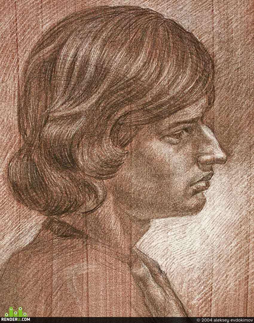 preview Портрет молодого человека