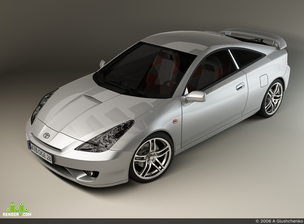 preview Toyota Celica GT-R