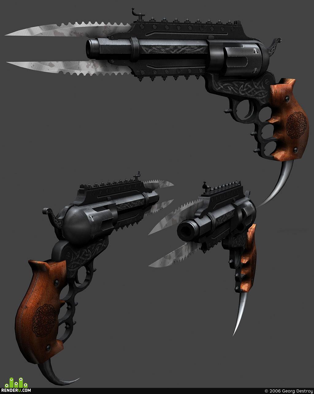 preview Van Helsing револьвер