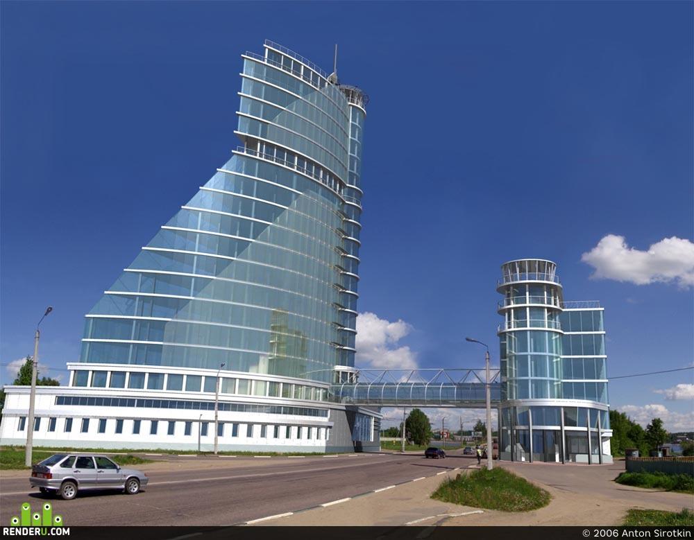 preview Офисное здание