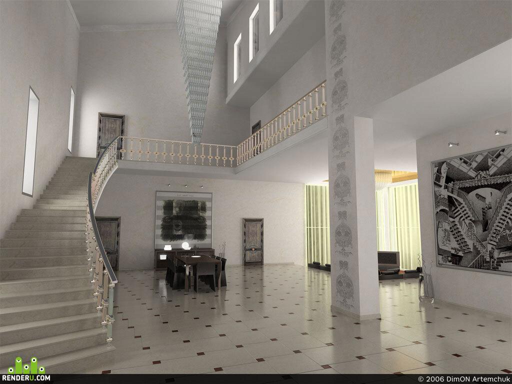 preview гостиная, частный интерьер, под Киевом