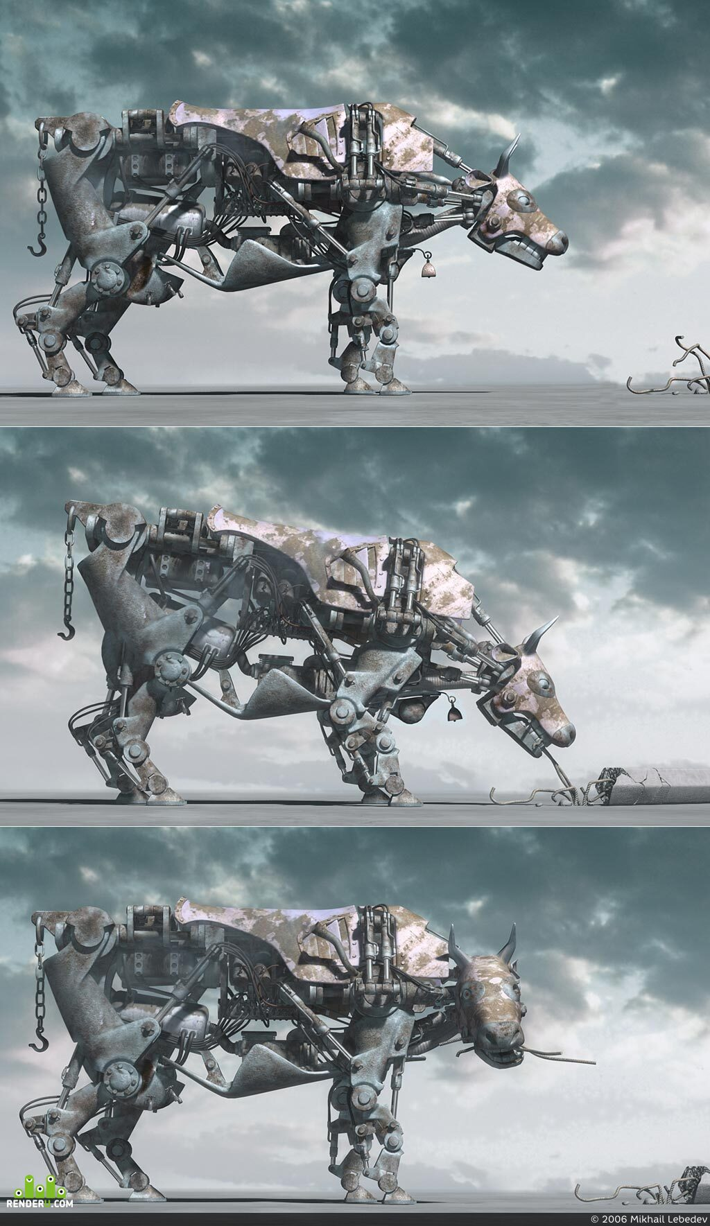 preview mechanical COW