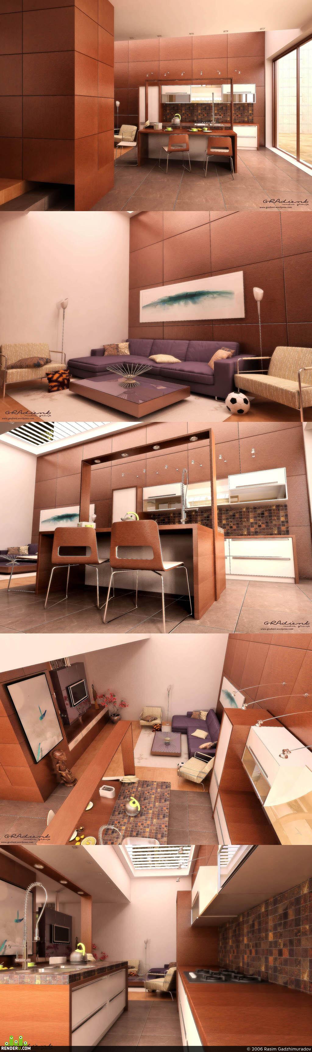 preview кухня+гостиная
