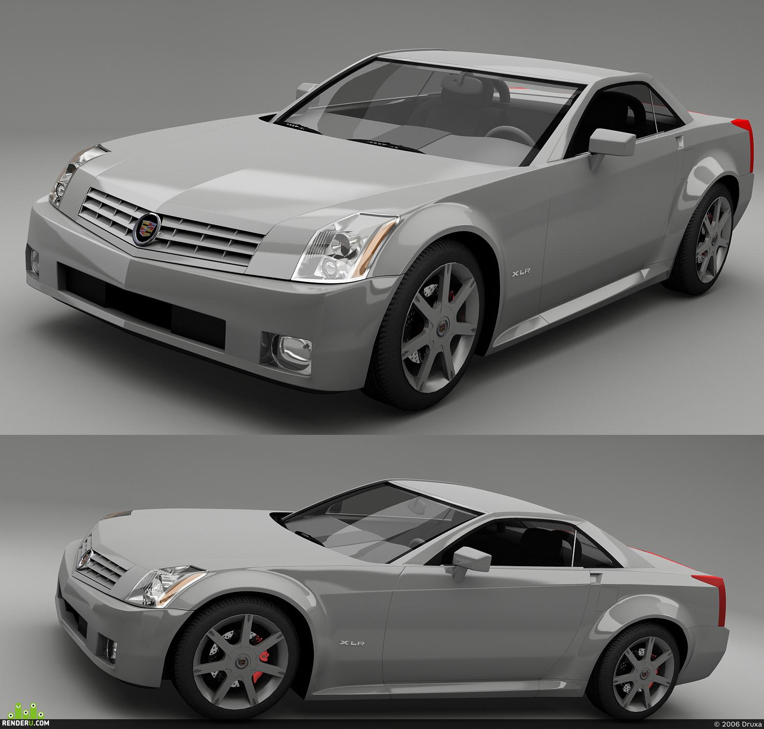 preview Cadillac XLR