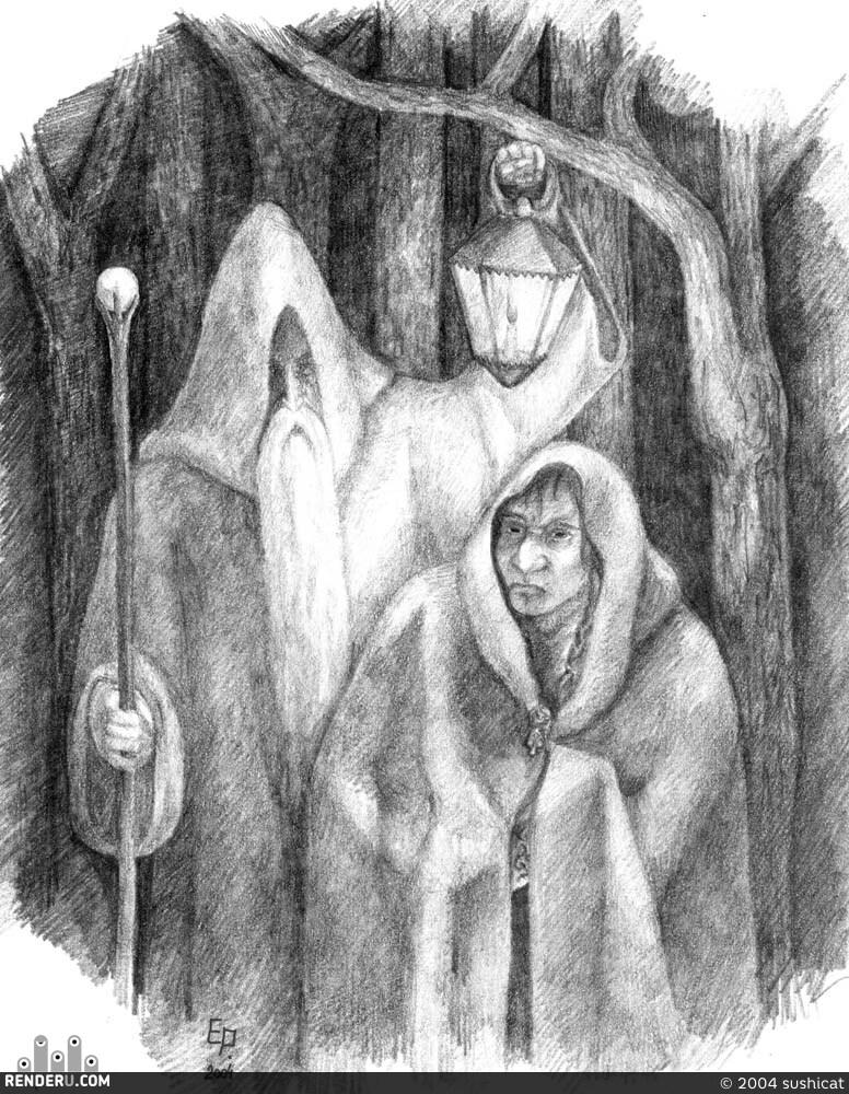 preview Темной ноченькой в дремучем лесу