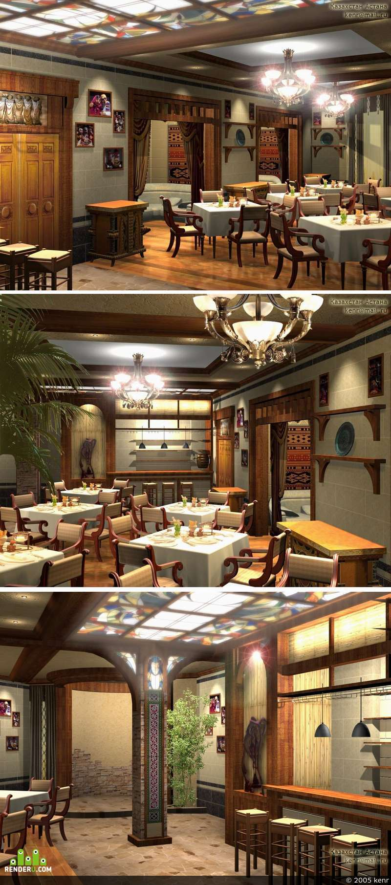 preview Интерьер армянского ресторана