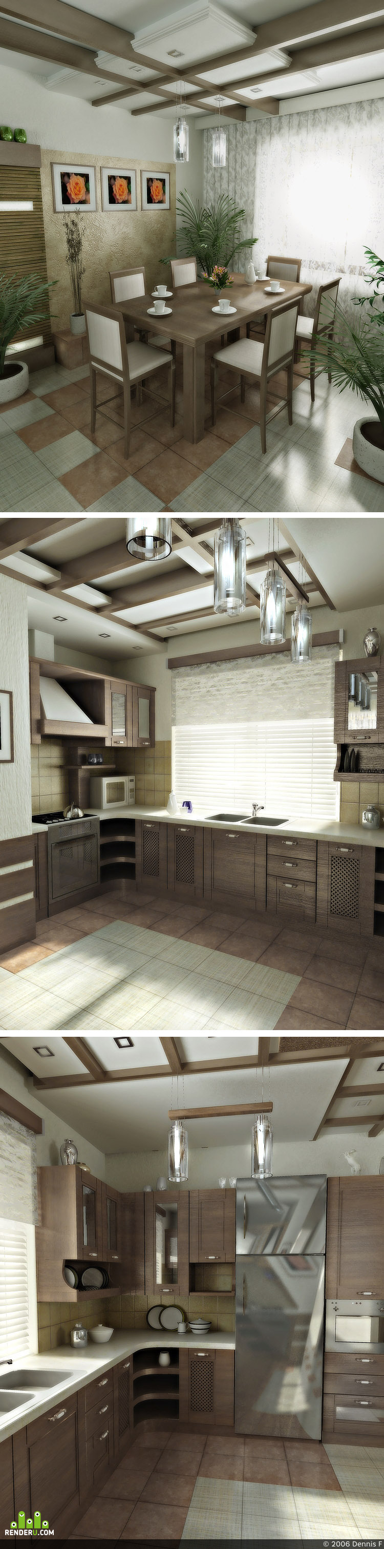"""preview """"Kitchen-II"""""""