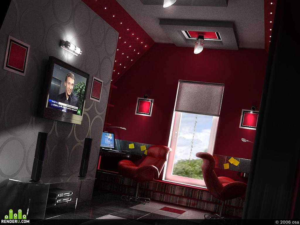 preview кабинет для Максма и его жены!!