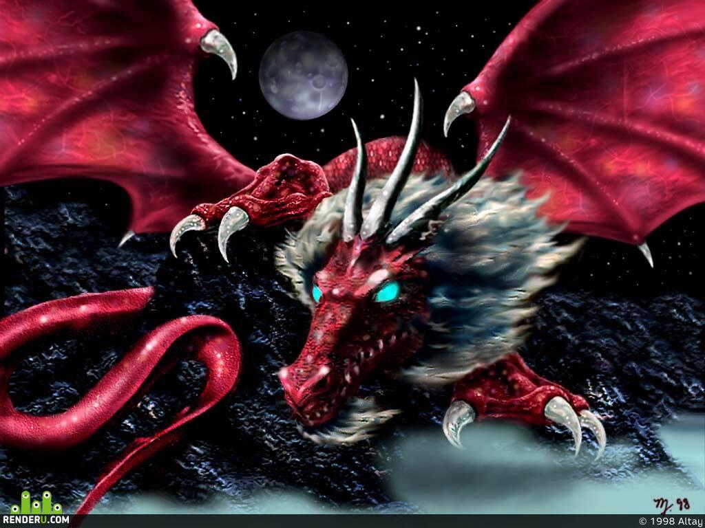 preview Красный Дракон
