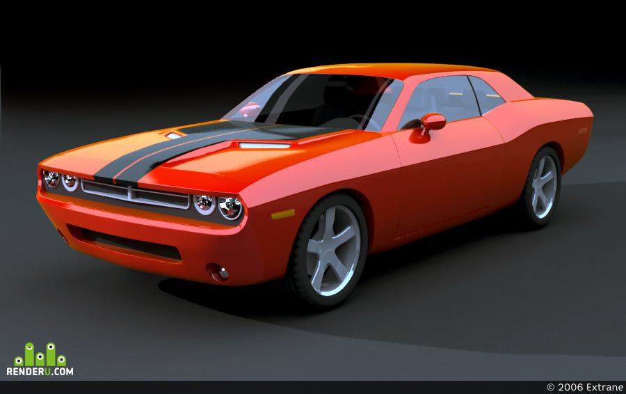 preview Dodge Challenger 2008
