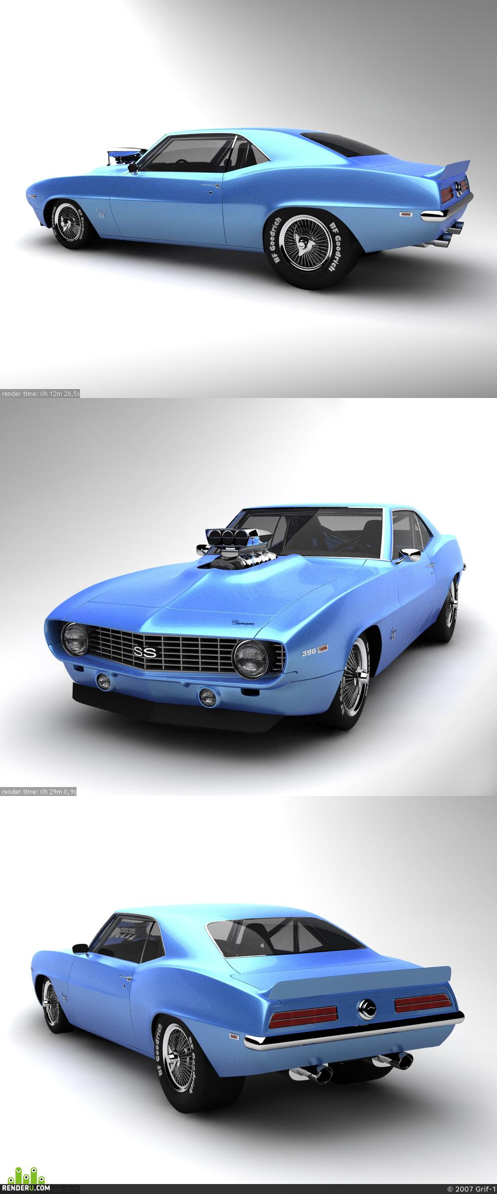 preview Chevrolet Camaro SS 1969