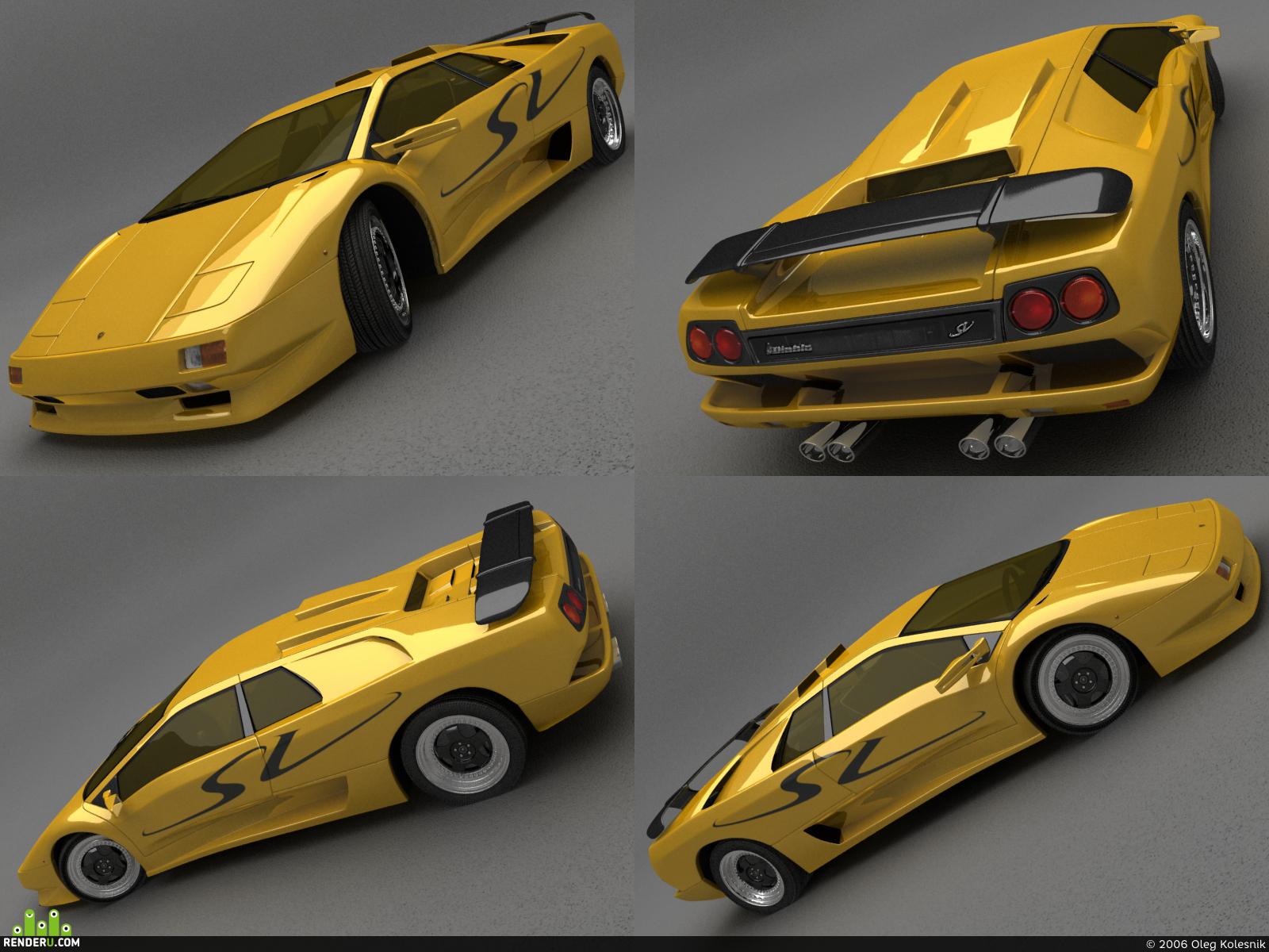 preview Lamborghini Diablo SV (remake)