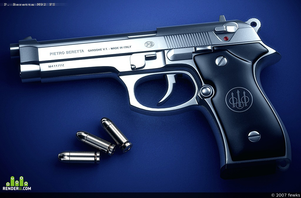 preview P. BERETTA M92 FS