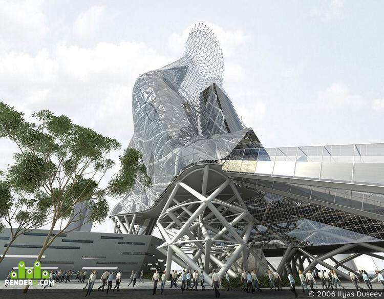 preview архитектурная фантазия