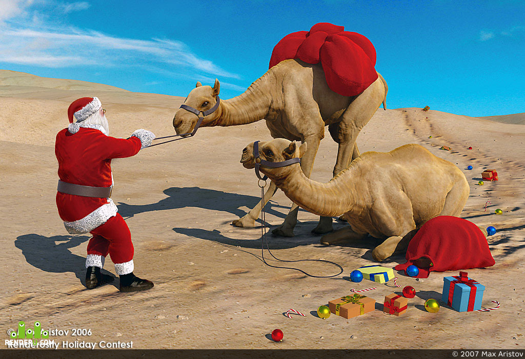 preview Santa's Training for Global Warming