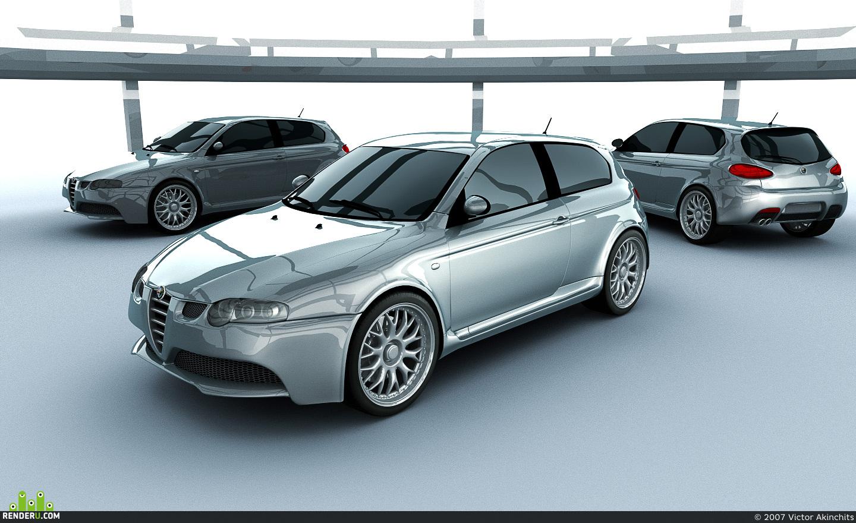 preview Alfa Romeo 147GTA