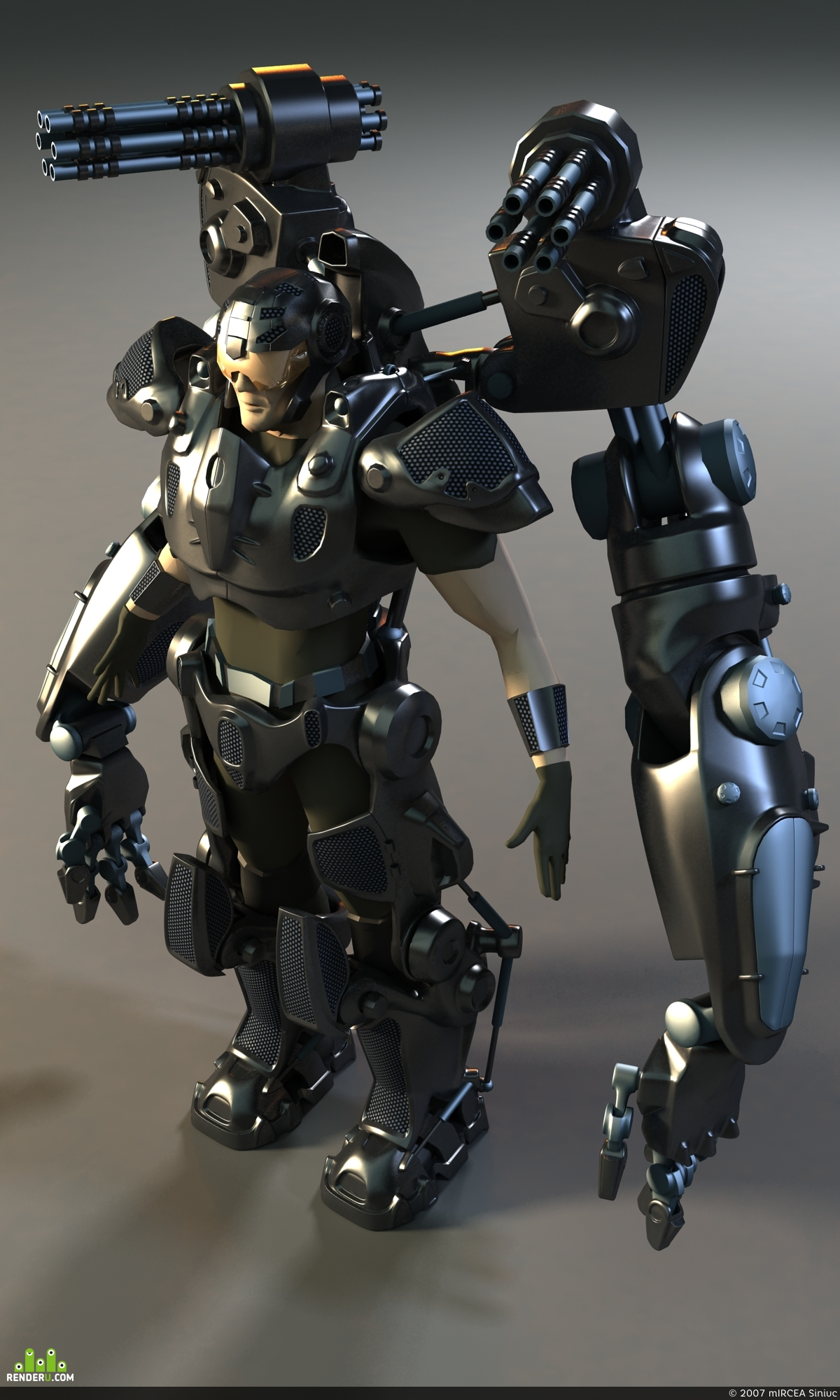 preview Robotizirovannii EXOSCHELET