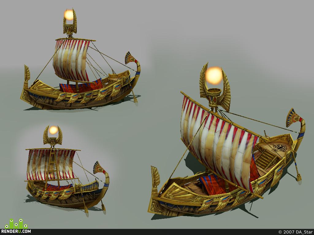 preview Кораблик