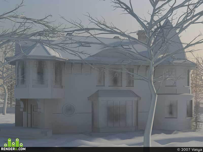 preview Зимнее утро