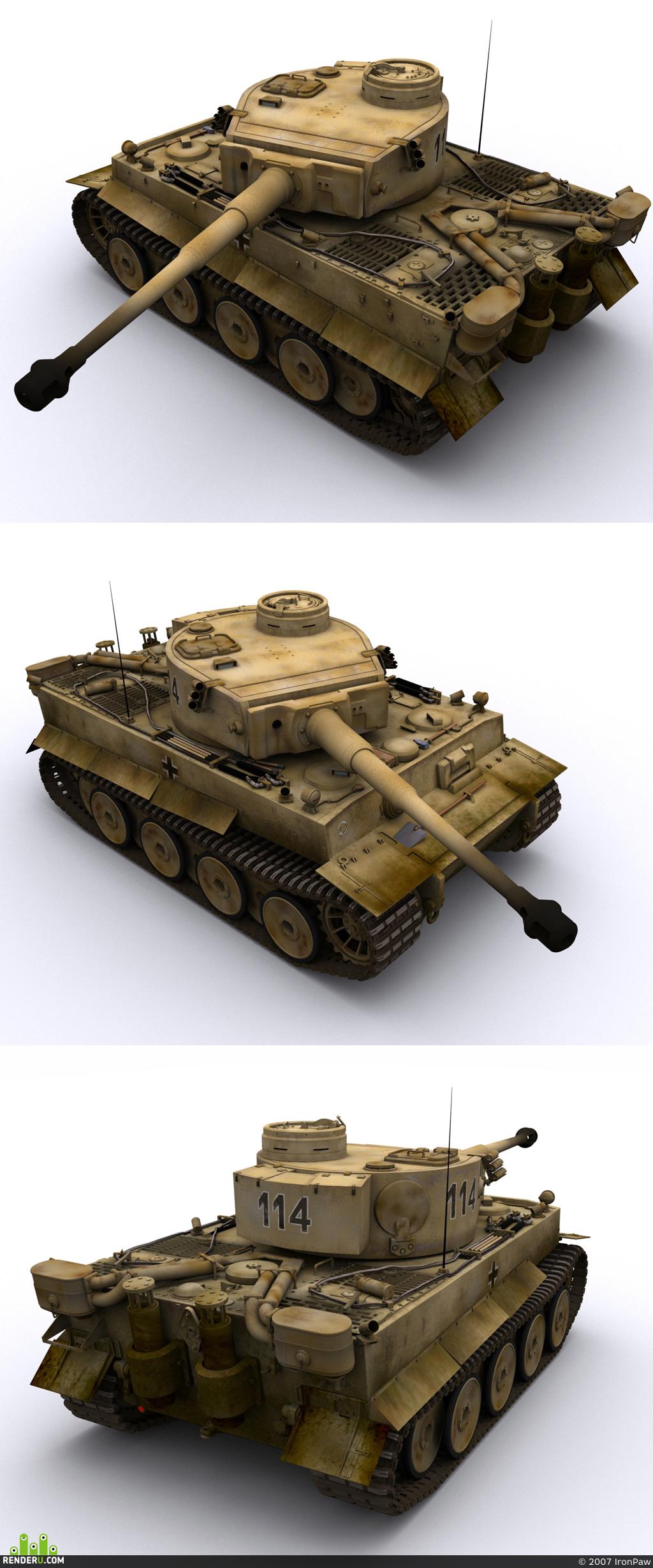 "preview Pz.Kpfw.VI(H) ""Tiger"" / 503 abt. Kursk Battle 1943."