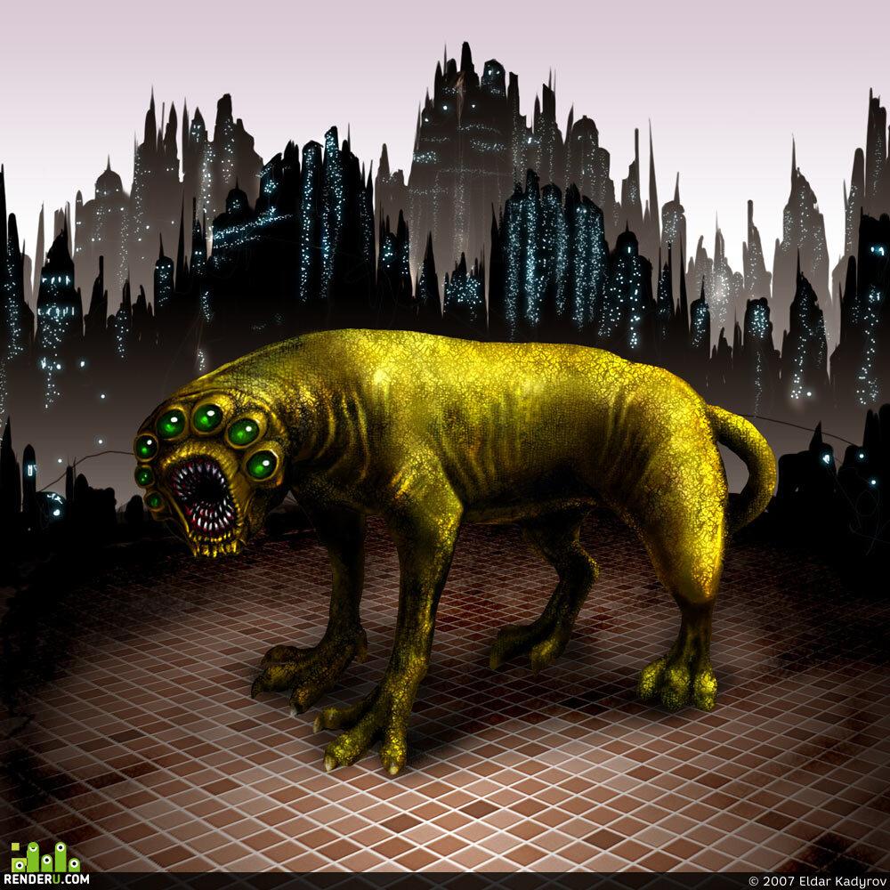 preview зверь с другой планеты