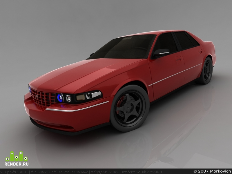 preview Cadillac Seville STS