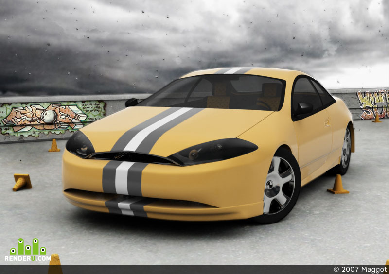 preview Ford Cougar