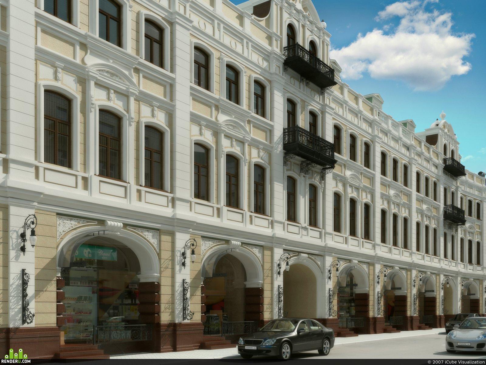 preview Реконструкция существующего здания под офисный центр на ул. Никольская