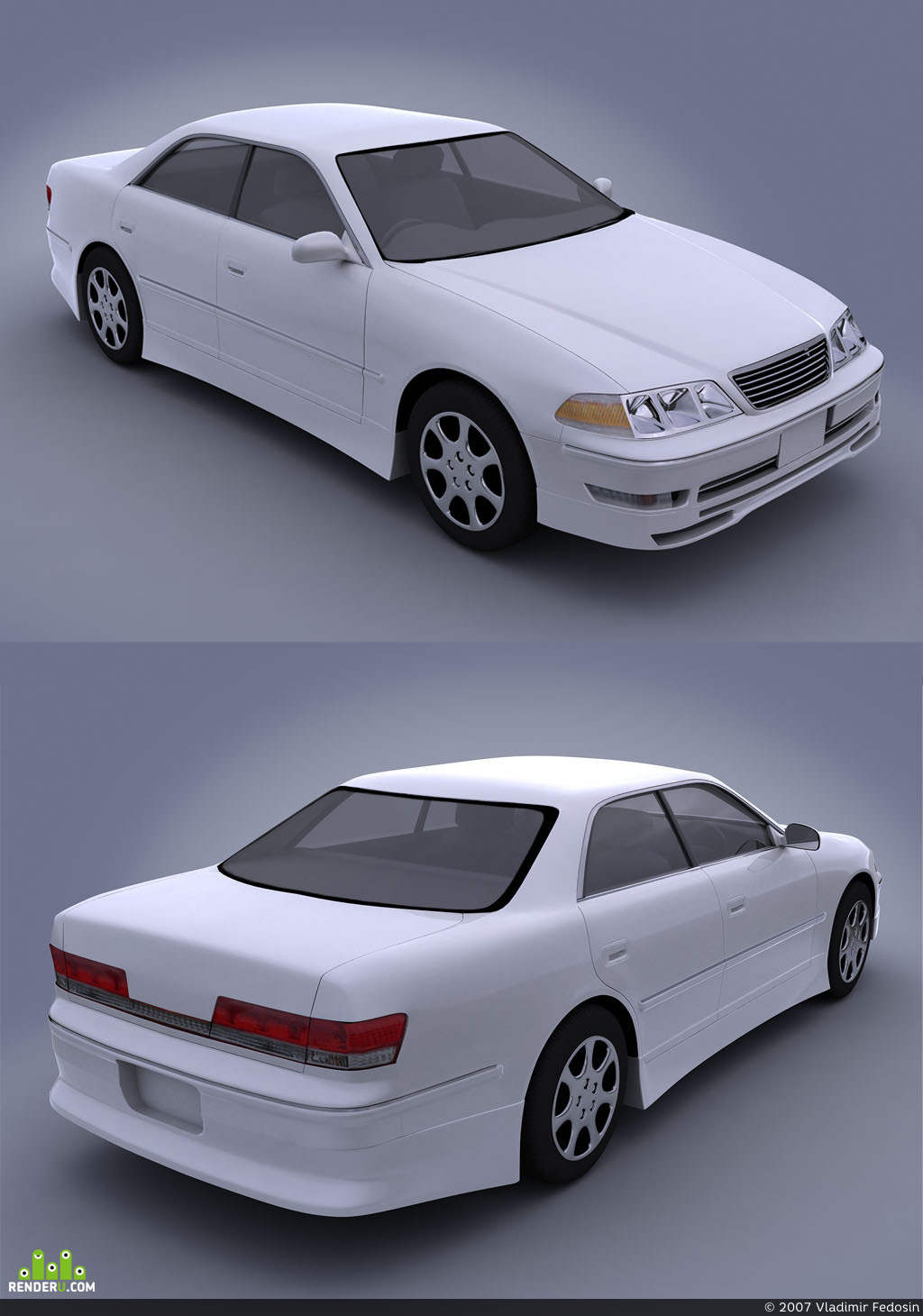 preview Toyota MarkII