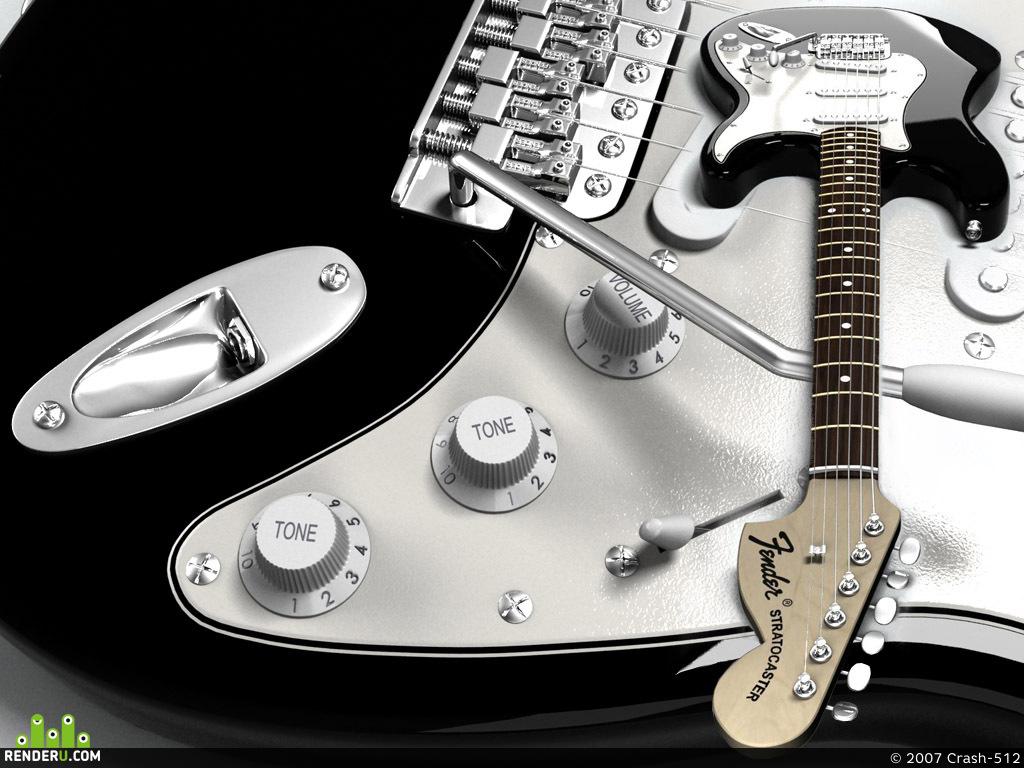preview Fender Strat
