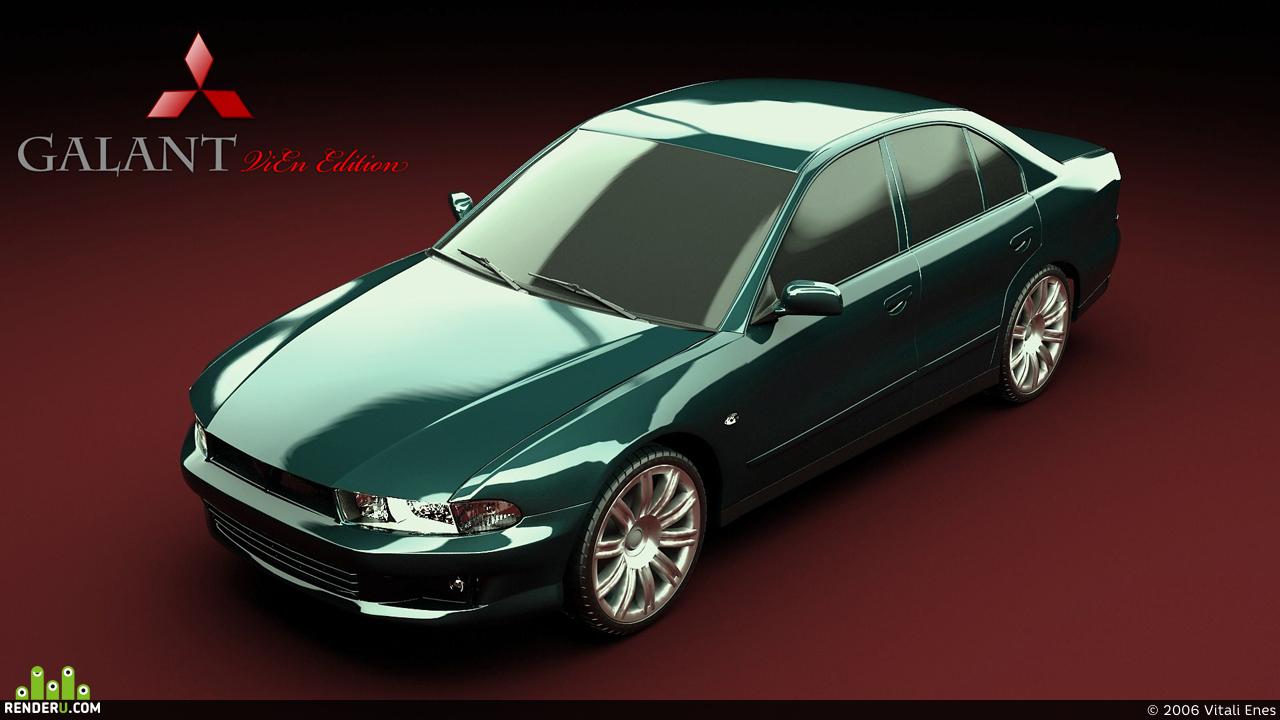 preview Mitsubishi Galant 2.0 ViEn Edition