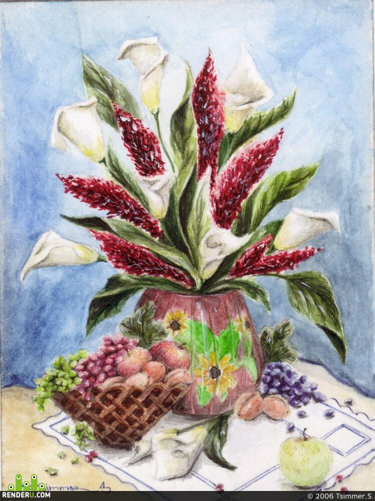 preview Цветы и фрукты