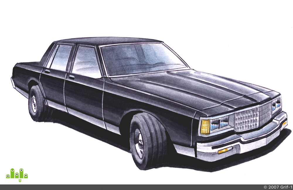 preview Chevrolet Caprice 1981