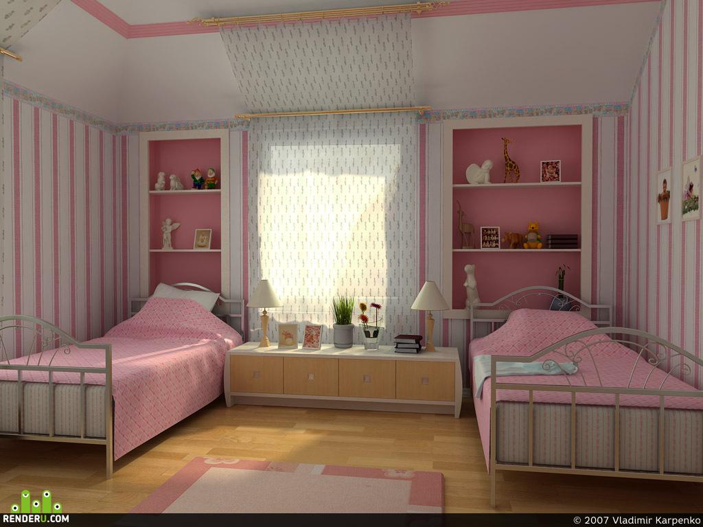 preview Детская спальная комната
