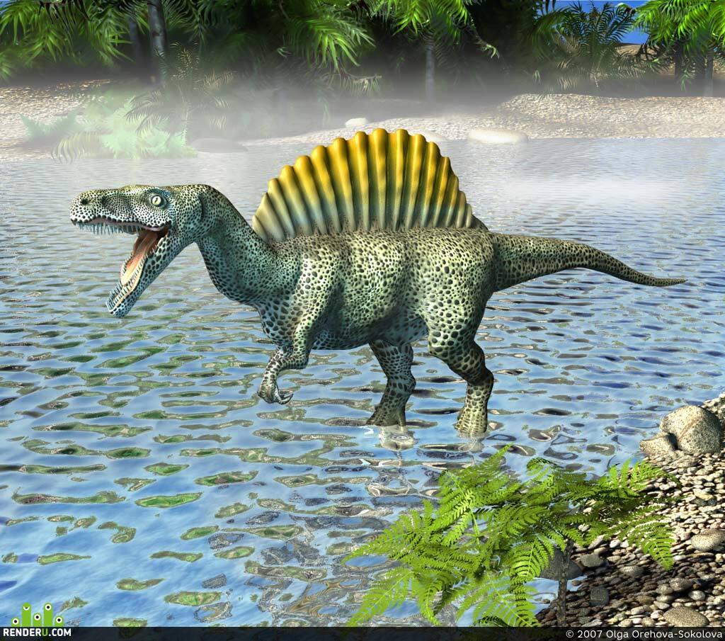 preview Спинозавр