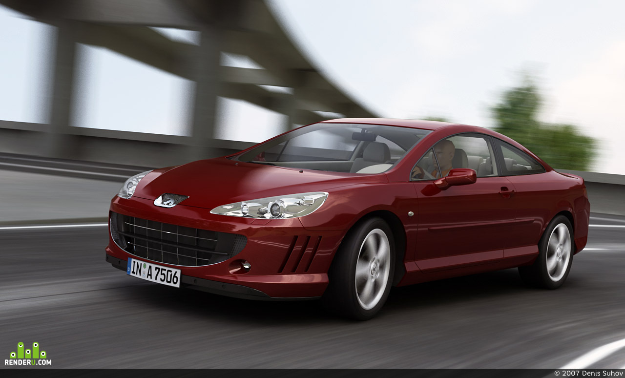 preview Peugeot 407 Coupe
