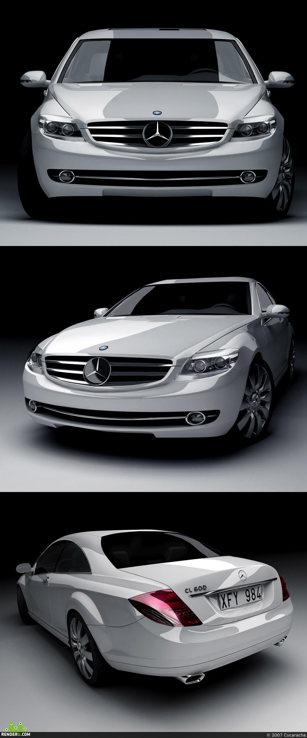 preview Mercedes-Benz CL-Klasse