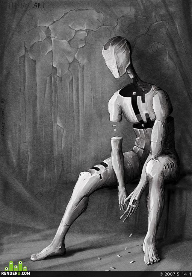 preview Фигура человека. №3.