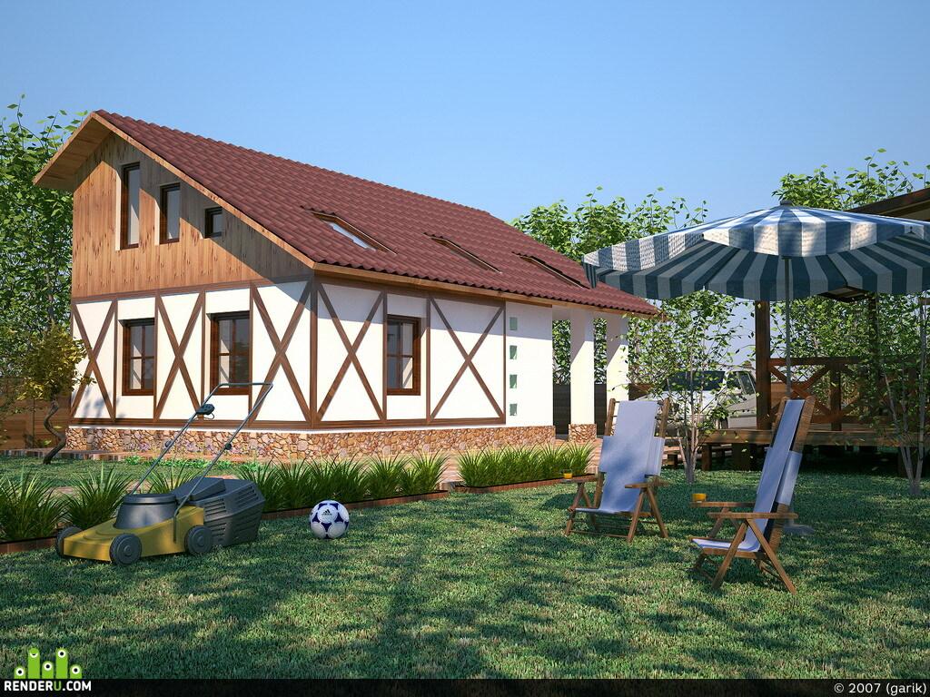 preview Дачный домик
