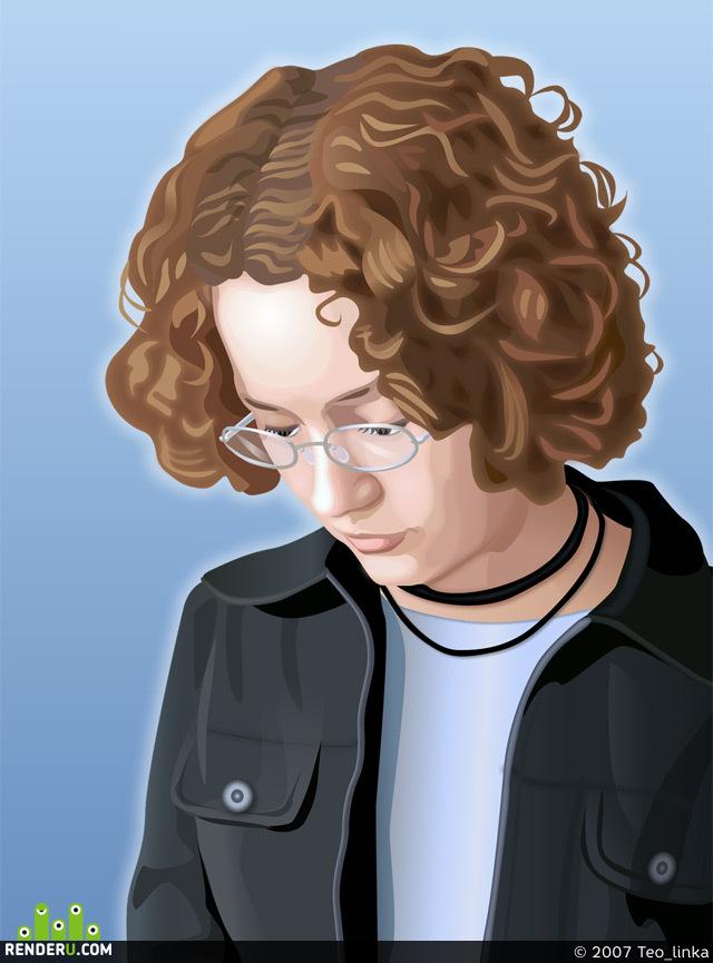 preview Юля, портрет