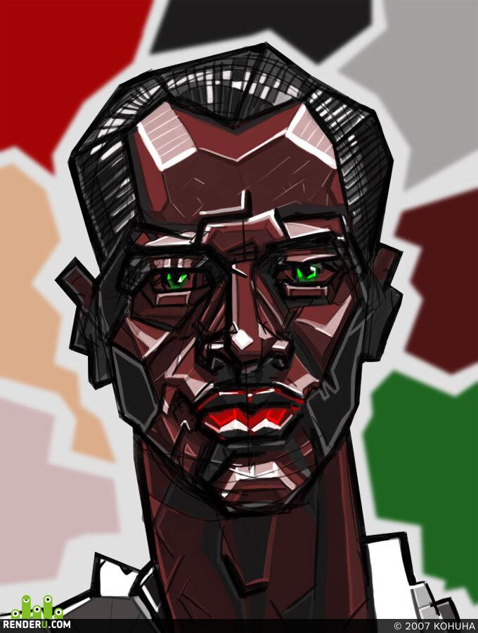 preview Портрет негра