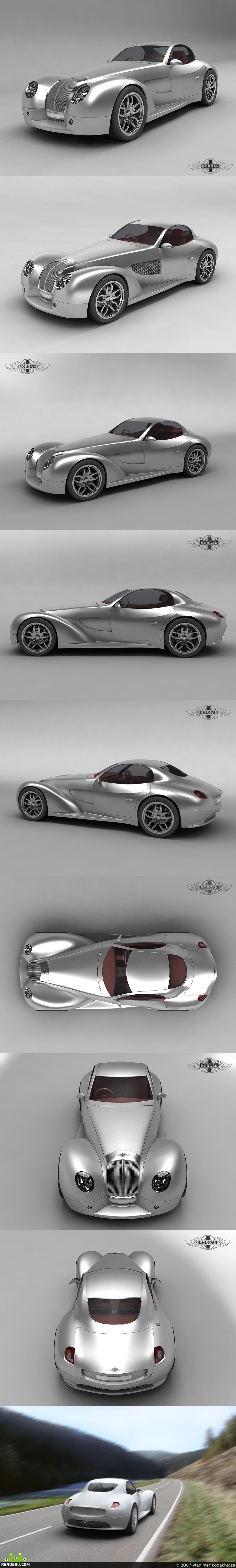 preview MORGAN Space (Concept Car)