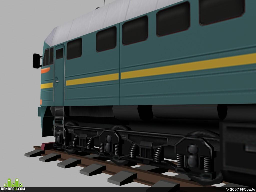preview Локомотив на базе М-62