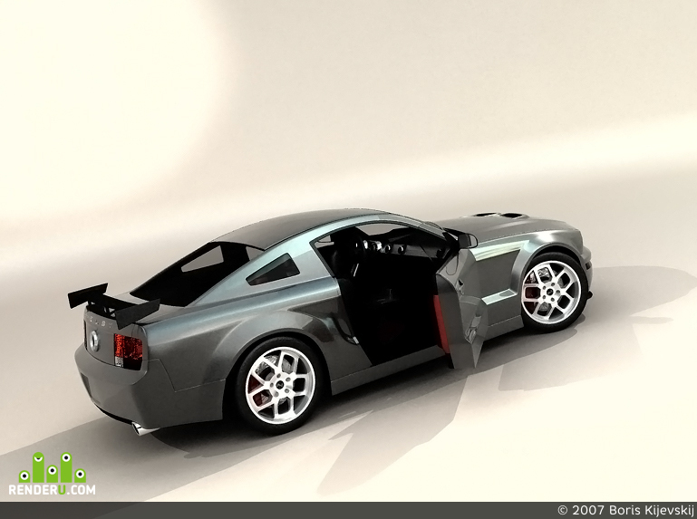 preview Shelby GT500 2007